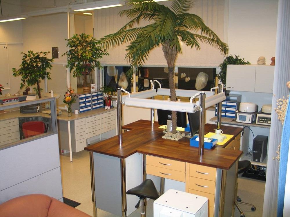 Hammaslaboratoriomme toimitilat Kuopiossa