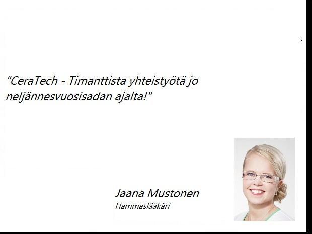 Jaana Mustonen Hammaslääkäri