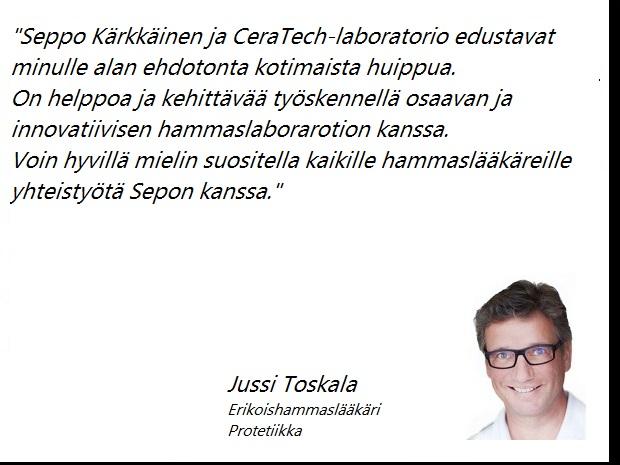 Jussi Toskala Erikoishammaslääkäri